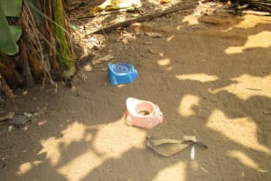 The Water Project: Mayaya Village A -  Toddler Latrines