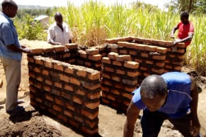 The Water Project: St. Marygoret Girls Secondary School -  Construction