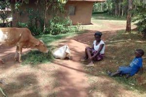 The Water Project: Igogwa Community -  Violet Oruda