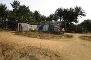The Water Project: Kitonki Community, War Wounded Camp -  Clothesline