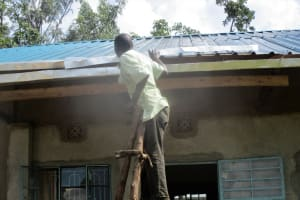 The Water Project: Virembe Primary School -  Gutter Installation