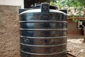 The Water Project: Esibuye Primary School -  Tank At School