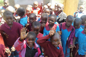 The Water Project: ADC Chanda Primary School -  Finished Latrines