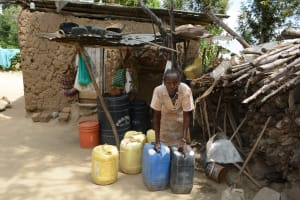 The Water Project: Ilinge Community A -  Family Two Household