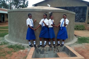 The Water Project: Matende Girls High School -  Finished Tank