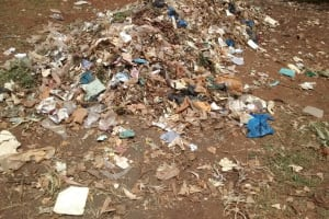 The Water Project: Esibuye Primary School -  Garbage Pile