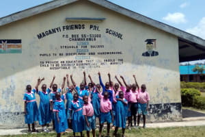 The Water Project: Maganyi Primary School -  Group Picture