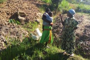The Water Project: Shikoti Community, Amboka Spring -  Mrs Amboka Talking About Her Community