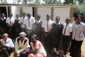 The Water Project: Friends Makuchi Secondary School -  Finished Project