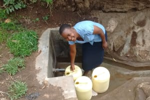 The Water Project:  Protected Spring