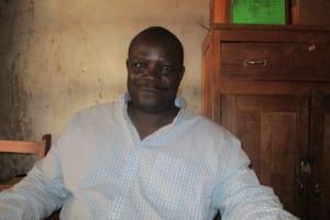 The Water Project: Lwangele Primary School -  Mr Laurence Obege Headteacher