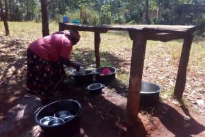 The Water Project: Ematsuli Primary School -  Alice School Cook