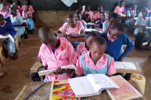 The Water Project: Muhudu Primary School -  In Class