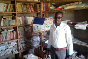 The Water Project: Maganyi Primary School -  Headteacher