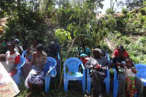 The Water Project: Shitungu Community, Hessein Spring -  Training