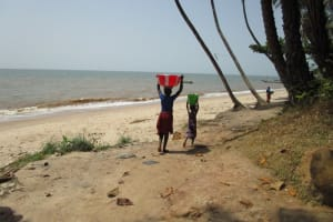 The Water Project: Kitonki Community -  Carrying Water