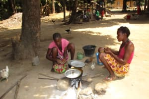 The Water Project: Conakry Dee Community A -  Cooking