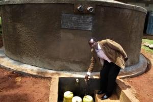 The Water Project: Bumuyange Secondary School -  Mr Enos Kagali School Headteacher