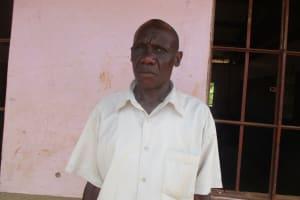 The Water Project: Lwangele Primary School -  Mr Edward Ogudah Deputy Headteacher