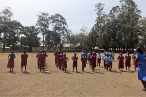 The Water Project: Emulakha Primary School -  Students In Pe Class