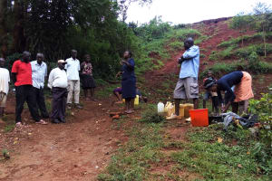 The Water Project: Shitaho Community, Mwikholo Spring -  Training