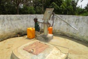 The Water Project: Kulafai Rashideen Primary School -  Seasonal Well