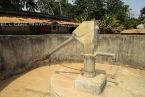 The Water Project: Kitonki Community -  Seasonal Water Well