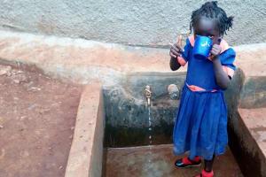 The Water Project: Kilingili Primary School -  Finished Tank