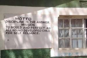 The Water Project: Eshisuru Primary School -  School Motto