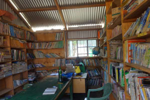 The Water Project: Ibinzo Girls Secondary School -  School Library