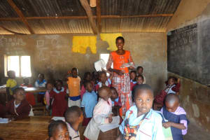 The Water Project: Emulakha Primary School -  Classroom