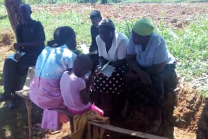 The Water Project: Bumavi Community, Shoso Mwoga Spring -  Focused Group Discussions