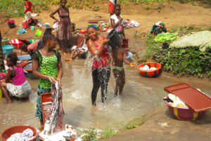 The Water Project: Benke Community, Brima Lane -  Swamp