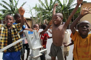 The Water Project: Tintafor, Police Barracks C-Line Community -  Clean Water
