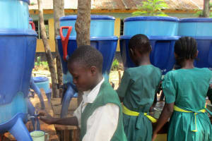 The Water Project: Mukhombe Primary School -  Lifestraw For Water