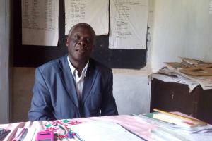 The Water Project: Muhudu Primary School -  Headteacher