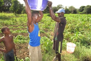 The Water Project: Kitonki Community, War Wounded Camp -  Alternative Water Source