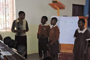 The Water Project: Compassion Primary School -  Student Leaders Address Training