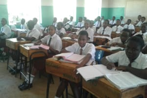 The Water Project: Bishop Sulumeti Girls Secondary School -  Classroom