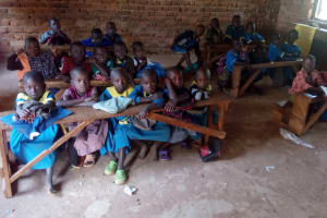 The Water Project: Ematsuli Primary School -  Students In Classroom