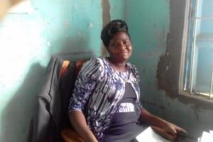 The Water Project: Emukhalari Primary School -  Headteacher Emma Nandwa