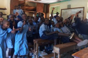 The Water Project: Chief Mutsembe Primary School -  Students In Classroom