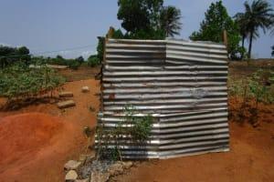 The Water Project: Royema, New Kambees -  Latrine