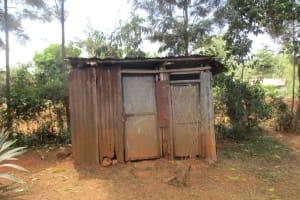 The Water Project: Lwangele Primary School -  Latrines