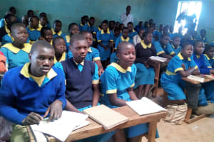 The Water Project: Ematsuli Primary School -  Students In Class