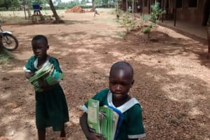 The Water Project: Esibuye Primary School -  Carrying Books