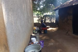 The Water Project: Bumini Primary School -  School Cook Working