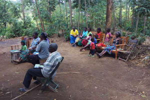 The Water Project: Emarembwa Community, Nyangweso Spring -  Training