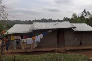 The Water Project: Shitungu Community B, Charles Amala Spring -  Household
