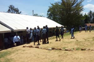 The Water Project: Chief Mutsembe Primary School -  Taking A Walk Outside